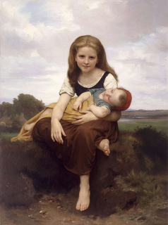 William-Adolphe-Bouguereau-The-Elder-Sister